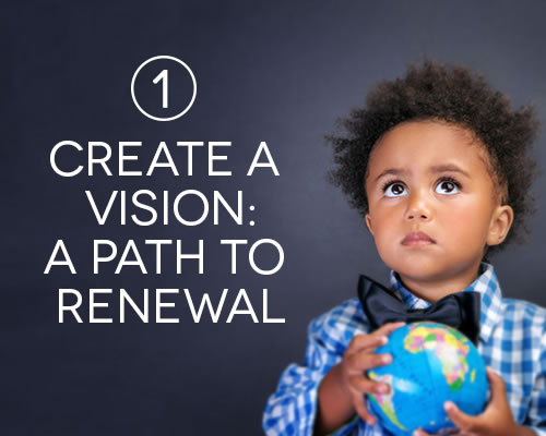 Create a vision: a path to renewal